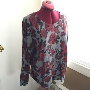 Floral Talbots Sweater